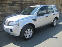 USED 2013 62 LAND ROVER FREELANDER 2.2 TD4 GS 5d 150 BHP