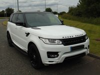 "USED 2014 14 LAND ROVER RANGE ROVER SPORT 4.4 AUTOBIOGRAPHY DYNAMIC 5d AUTO 339 BHP PAN ROOF, SAT NAV, 22"" ALLOYS"