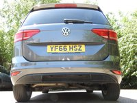 USED 2016 66 VOLKSWAGEN TOURAN 1.6 SE FAMILY TDI BLUEMOTION TECHNOLOGY 5d 114 BHP 1 OWNER VAT Q PAN ROOF SAT NAV