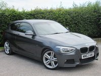USED 2013 63 BMW 1 SERIES 2.0 118D M SPORT 3d  * CRUISE CONTROL * 6 SPEED GEARBOX * PARKING SENSORS *