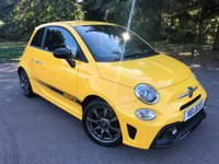 USED 2017 17 ABARTH 595 1.4L 595 3d 144 BHP ..STRIKING EXAMPLE..