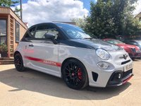 USED 2017 67 ABARTH 595 1.4L 595 COMPETIZIONE 3d 177 BHP £4000 OF FACTORY EXTRAS...