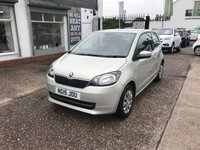 USED 2015 15 SKODA CITIGO 1.0 SE 12V 3d 59 BHP FULL SERVICE HISTORY-£20 TAX-1.0 PETROL-DRIVES WELL-NEW MOT