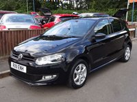2011 VOLKSWAGEN POLO 1.2 MODA 5dr, ONE OWNER £SOLD