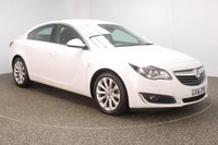 USED 2016 16 VAUXHALL INSIGNIA 1.6 ELITE NAV CDTI ECOFLEX S/S 5DR SAT NAV LEATHER SEATS 1 OWNER 134 BHP FULL SERVICE HISTORY + LEATHER SEATS + SATELLITE NAVIGATION + PARKING SENSOR + BLUETOOTH + CRUISE CONTROL + CLIMATE CONTROL + MULTI FUNCTION WHEEL + ELECTRIC SEATS + DAB RADIO + XENON HEADLIGHTS + ELECTRIC WINDOWS + RADIO/CD/AUX/USB + ELECTRIC MIRRORS + 18 INCH ALLOY WHEELS