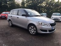 USED 2011 61 SKODA FABIA 1.2 S 12V 5d ESTATE TIMING CHAIN RECENTLY REPLACED  AND BEEN SERVICED  NO DEPOSIT  FINANCE ARRANGED, APPLY HERE NOW