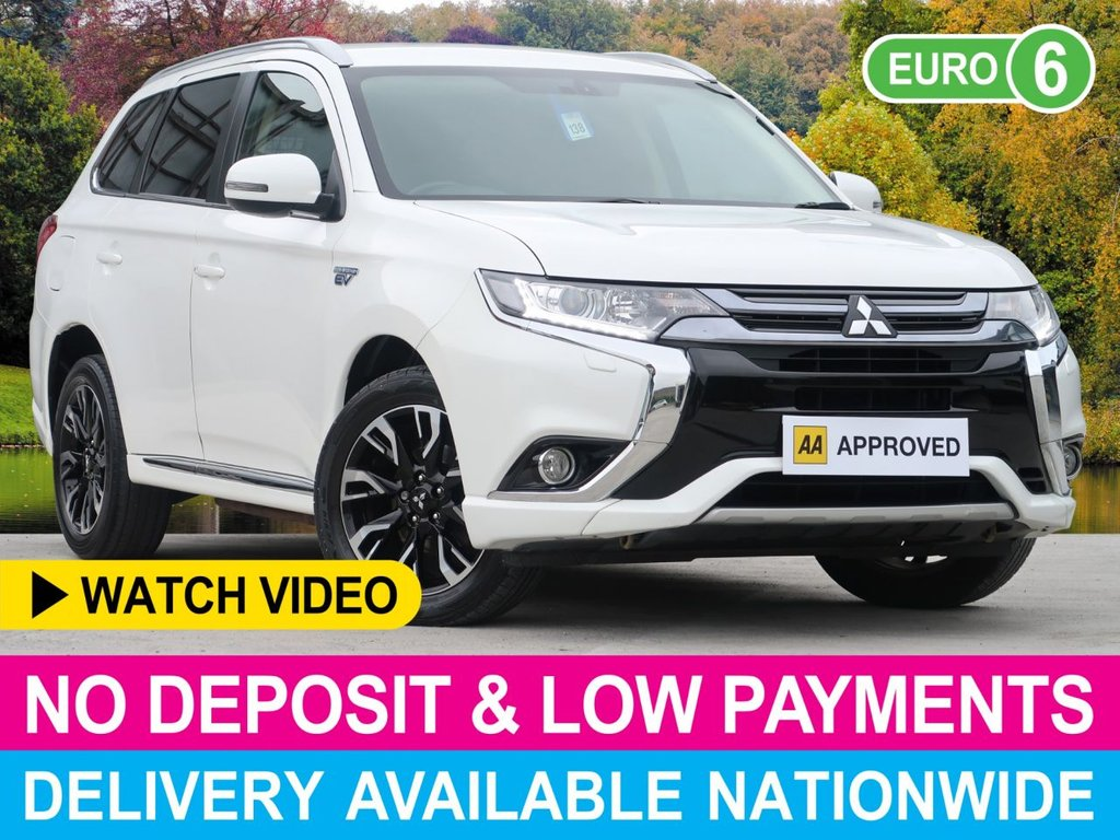 USED 2016 65 MITSUBISHI OUTLANDER 2.0 PHEV GX3H+ 4WORK COMMERCIAL VAN 4WD 5DR AIR CON ALLOYS CRUISE H/SEATS