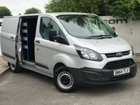 USED 2014 64 FORD TRANSIT CUSTOM 310 2.2 100 BHP L1 H1**WORK STATION**85 VANS IN STOCK**