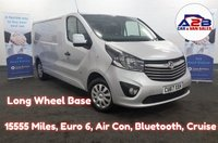 2017 VAUXHALL VIVARO 1.6 2900 SPORTIVE CDTI 120 BHP, Long Wheel Base, Low Mileage 15555, One Owner From New, Air Con, Bluetooth Connectivity, Cruise Control, Euro 6 with Ad Blu, Rear Parking Sensors and more...  £12980.00