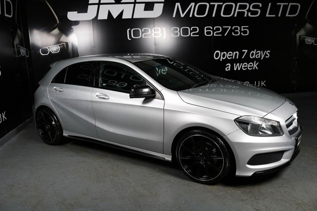 2014 63 MERCEDES-BENZ A CLASS A180 CDI BLUEEFFICIENCY AMG SPORT NIGHT EDITION STYLE 109 BHP (FINANCE AND WARRANTY)