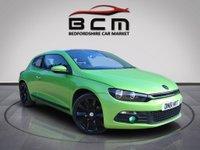2011 VOLKSWAGEN SCIROCCO 2.0 GT TDI BLUEMOTION TECHNOLOGY 2d 140 BHP £SOLD
