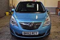 USED 2012 62 VAUXHALL MERIVA 1.7 SE CDTI 5d 128 BHP Light Metallic Blue 2012 Vauxhall Meriva 1.7CDTI, covered 80k miles with 2 owners from new! Equipped with Sat Nav and Panoramic Roof! Finance available, PX Welcome!