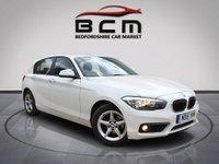 2015 BMW 1 SERIES 1.5 116D SE 5d AUTO 114 BHP £9885.00