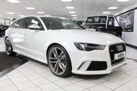USED 2016 65 AUDI RS6 AVANT 4.0 TFSI V8 RS6 AVANT QUATTRO 560 BHP PAN ROOF SPORT EXHAUST DRC SUSPENSION GLACIER