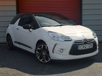 2012 CITROEN DS3 1.6 DSTYLE PLUS 3d 120 BHP £5295.00