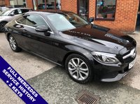 "USED 2016 65 MERCEDES-BENZ C CLASS 2.0 C 200 SPORT 2DOOR 181 BHP DAB Radio     :     Satellite Navigation     :     2 USB Sockets     :     Automatic Headlights      Car Hotspot / WiFi   :   Speed Limiter   :   Bluetooth   :   Climate Control / Air Conditioning       Heated/Electric Front Seats   :   Remotely Operated Tailgate   :   Front/Rear Parking Sensors                     17"" Alloy Wheels   :   2 Keys   :   Full Mercedes Service History"