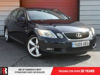 USED 2005 05 LEXUS GS 3.0 300 SE-L 4d 245 BHP Leather Upholstery