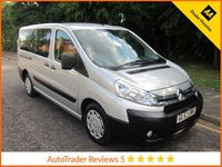 USED 2014 63 CITROEN DISPATCH 2.0 COMBI L2H1 HDI SX 5d 161 BHP Fantastic One Lady Owned Citroen Dispatch Mini Bus with Nine seats, Air Conditioning, Electric Windows, Electric Mirrors and Citroen Service History