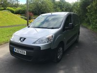USED 2012 12 PEUGEOT PARTNER 1.6 HDI S L1 625 1d 74 BHP GREAT PRICE VAN WITH NO VAT TO BE ADDED, METALLIC SILVER, CENTRAL LOCKING, PLYLINED REAR, BULKHEAD