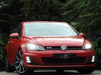 2014 VOLKSWAGEN GOLF 2.0 GTD DSG 5d AUTO 182 BHP £11190.00