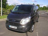 2017 FORD TRANSIT CUSTOM 2.0 290 LIMITED 129 BHP Van - SOLD £14995.00