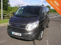 USED 2017 17 FORD TRANSIT CUSTOM 2.0 290 LIMITED 129 BHP Van - SOLD Air Con, Only 31000 miles, Manufacturers Warranty