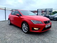 USED 2015 65 SEAT LEON 2.0 TDI FR TECHNOLOGY 5d 184 BHP BEAUTIFUL EXAMPLE OF THE 184 BHP FR LEON