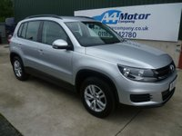USED 2012 61 VOLKSWAGEN TIGUAN 2.0 TDI BlueMotion Tech S 2WD (s/s) 5dr CAMBELT REPLACED -FINANCE