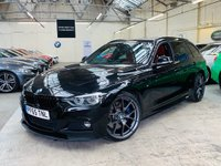 USED 2015 65 BMW 3 SERIES 3.0 340i M Sport Touring Sport Auto (s/s) 5dr PERFORMANCEPACK+HK+1OWN 20s