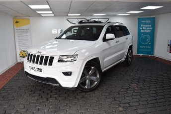 2015 JEEP GRAND CHEROKEE 3.0 V6 CRD Overland 4x4 5dr £21965.00