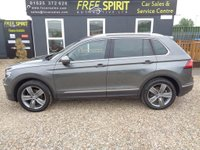 USED 2016 66 VOLKSWAGEN TIGUAN 2.0 TDI BlueMotion Tech SEL 4MOTION (s/s) 5dr Nav, Pan roof, Heated seats