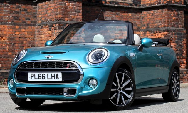 2016 66 MINI CONVERTIBLE 2.0 COOPER S 2d 189 BHP [ MEDIA XL ]