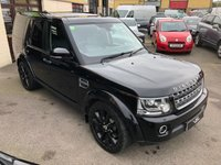 2016 LAND ROVER DISCOVERY 3.0 SDV6 COMMERCIAL SE 4dr AUTO 255 BHP Full Seat Conversion £29995.00