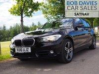 USED 2016 16 BMW 1 SERIES 1.6 120I SPORT 5d 167 BHP