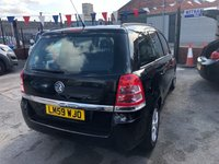 USED 2009 59 VAUXHALL ZAFIRA 1.6 EXCLUSIV 5d 113 BHP *** 12 MONTHS WARRANTY! PAYMENTS LOW AS £58 A MONTH! ***