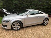 2007 AUDI TT 2.0 TFSI 3d 200 BHP CAM BELT @ 85K, SAT/NAV, £4995.00