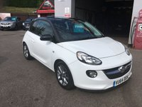 USED 2014 64 VAUXHALL ADAM 1.2 JAM 3d 69 BHP BLUETOOTH, AIR CONDITIONED, VERY NICE CAR, LOW INSURANCE