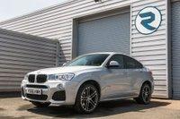 2016 BMW X4 2.0 XDRIVE20D M SPORT 4d AUTO 188 BHP £19750.00