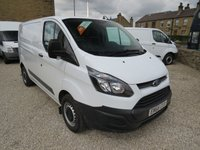 2016 FORD TRANSIT CUSTOM 270 BASE 105PS EURO 6 LONDON FRIENDLY L1 H1 VAN £9995.00