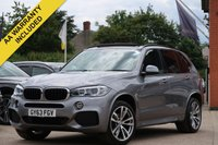 USED 2013 63 BMW X5 3.0 XDRIVE30D M SPORT 5d AUTO 255 BHP PANORAMIC ROOF, PROFESSIONAL NAVIGATION + REVERSE CAMERA
