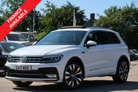 USED 2017 17 VOLKSWAGEN TIGUAN 2.0 R LINE TDI BMT 5d 148 BHP ELECTRIC PANORAMIC ROOF, NAVIGATION + MANUFACTURERS WARRANTY