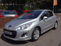 2013 PEUGEOT 308 1.6 HDI ACTIVE NAVIGATION VERSION 5dr, 2 OWNERS £4395.00