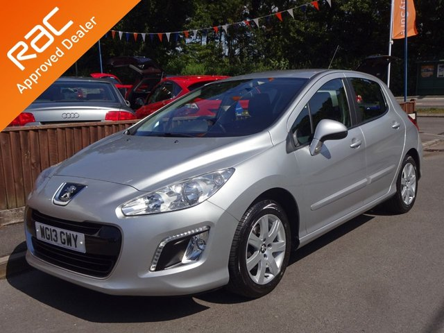 USED 2013 13 PEUGEOT 308 1.6 HDI Active Navigation 5 Door, 2 Owners *79,000 MILES*SAT NAV*MOT*CLIMATE CONTROL*