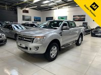 USED 2015 15 FORD RANGER 2.2 LIMITED 4X4 DCB TDCI 4dr 148 BHP 4WD PICKUP EXPRESS TONNO COVER