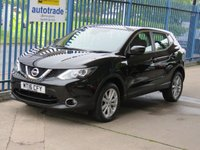 USED 2016 16 NISSAN QASHQAI 1.5 DCI ACENTA SMART VISION 5dr Cruise Alloys Bluetooth £Zero Road Tax,Great Economy,Service History