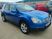 USED 2009 59 NISSAN QASHQAI+2 1.6 ACENTA PLUS 2 5d MOT SERVICE AND WARRANTY
