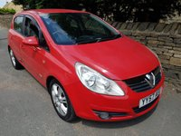 USED 2007 57 VAUXHALL CORSA 1.7 CDTI DESIGN 16V 5d 125 BHP+SERVICE HISTORY+LEATHER+ALLOYS+