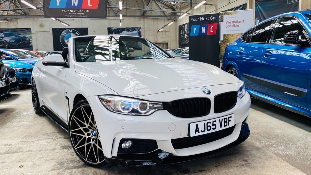 USED 2015 65 BMW 4 SERIES 3.0 430d M Sport Auto 2dr PERFORMANCE KIT 20S ! STUNNER