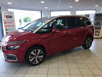 2017 CITROEN C4 GRAND PICASSO 1.6 BLUEHDI FLAIR S/S 5d 118 BHP £13995.00