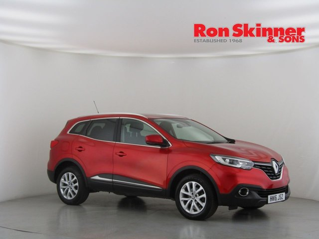 View our 2016 16 RENAULT KADJAR 1.2 DYNAMIQUE NAV TCE 5d 130 BHP